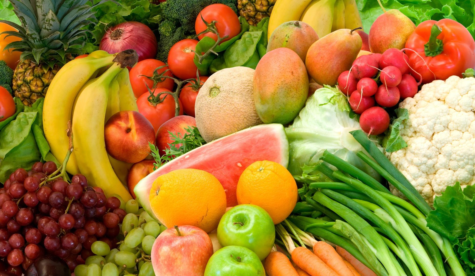 Польза от фруктов и овощей по максимуму
