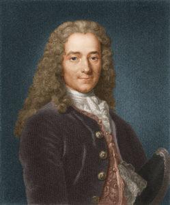 Вольтер (Франсуа-Мари Аруэ) (1694 – 1778) – философ, писатель, правозащитник, историк.