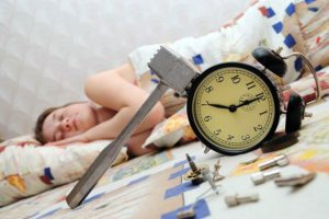 Тяжело вставать по утрам