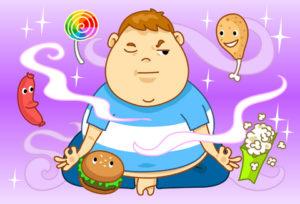 Изменить привычки в питании самостоятельно практически невозможно