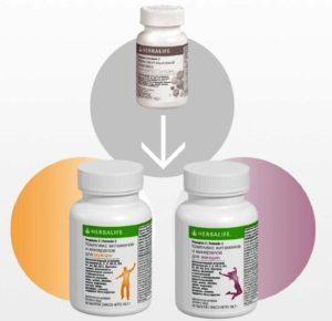 Формула 2 Комплекс витаминов и минералов для Женщин и Мужчин